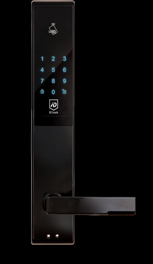IDL150-Lock-Black-Front