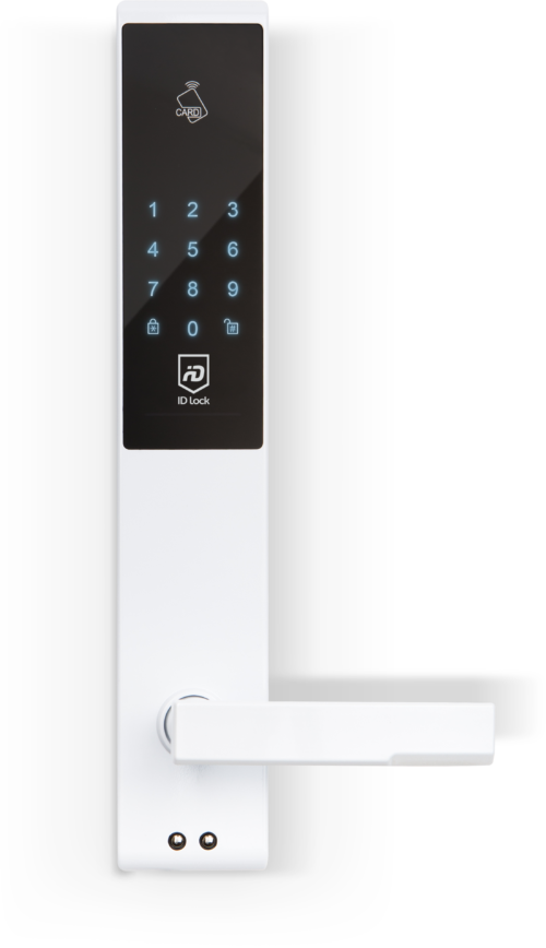 IDL150-Lock-White-Front