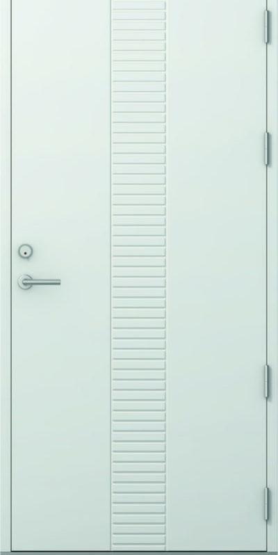 Nordicdoor-Tor ultra tett hvit